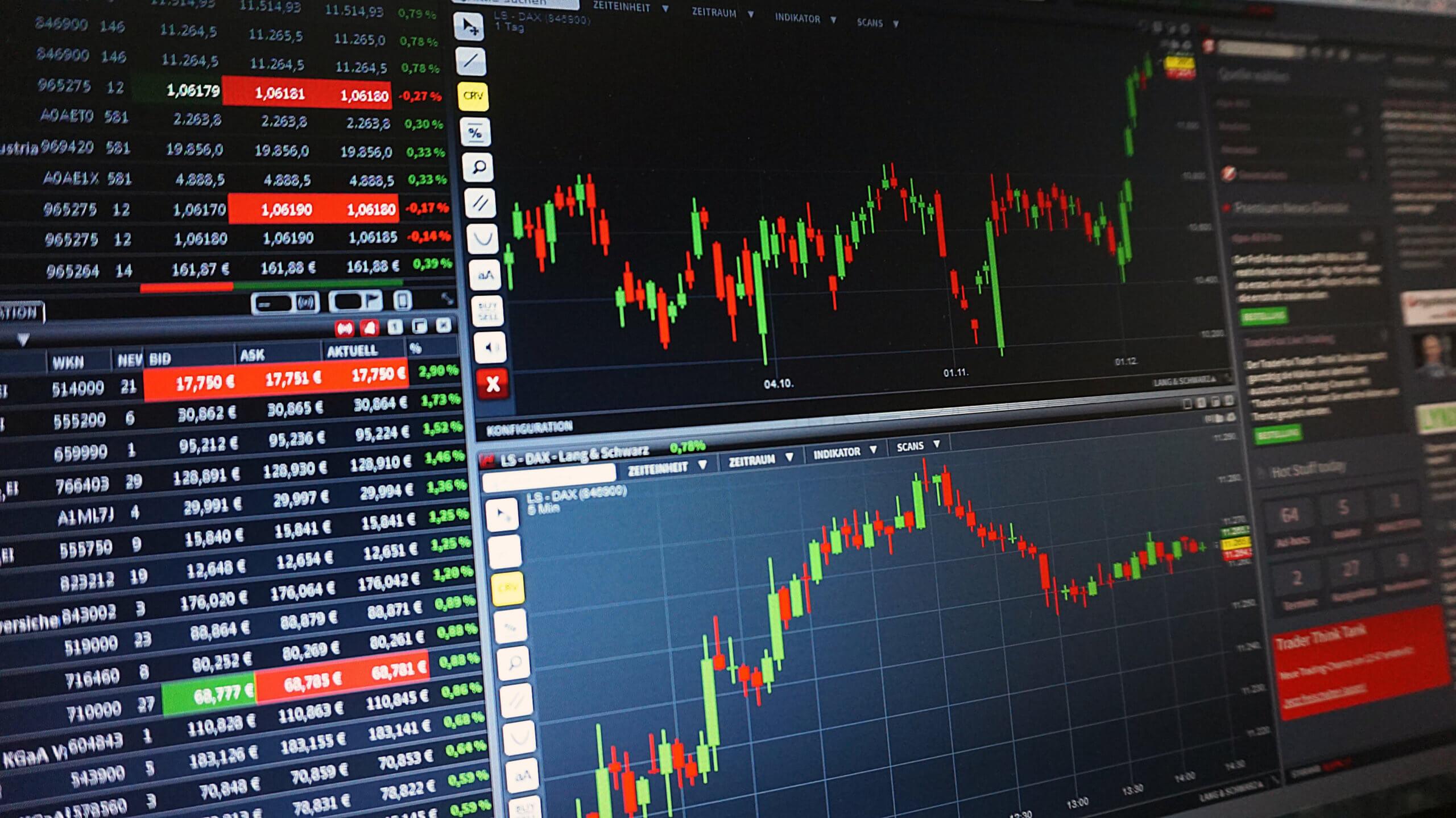 Bücher Aktien mit Chart