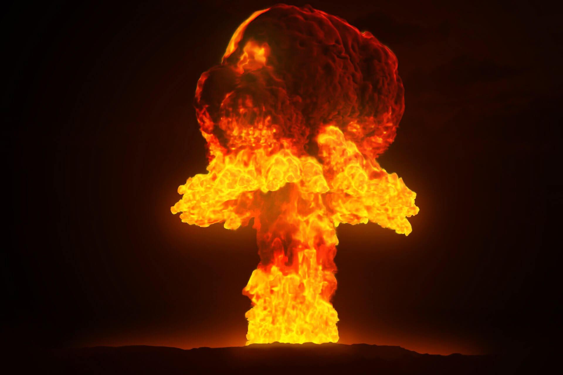 Atompilz Bücher Atombombe
