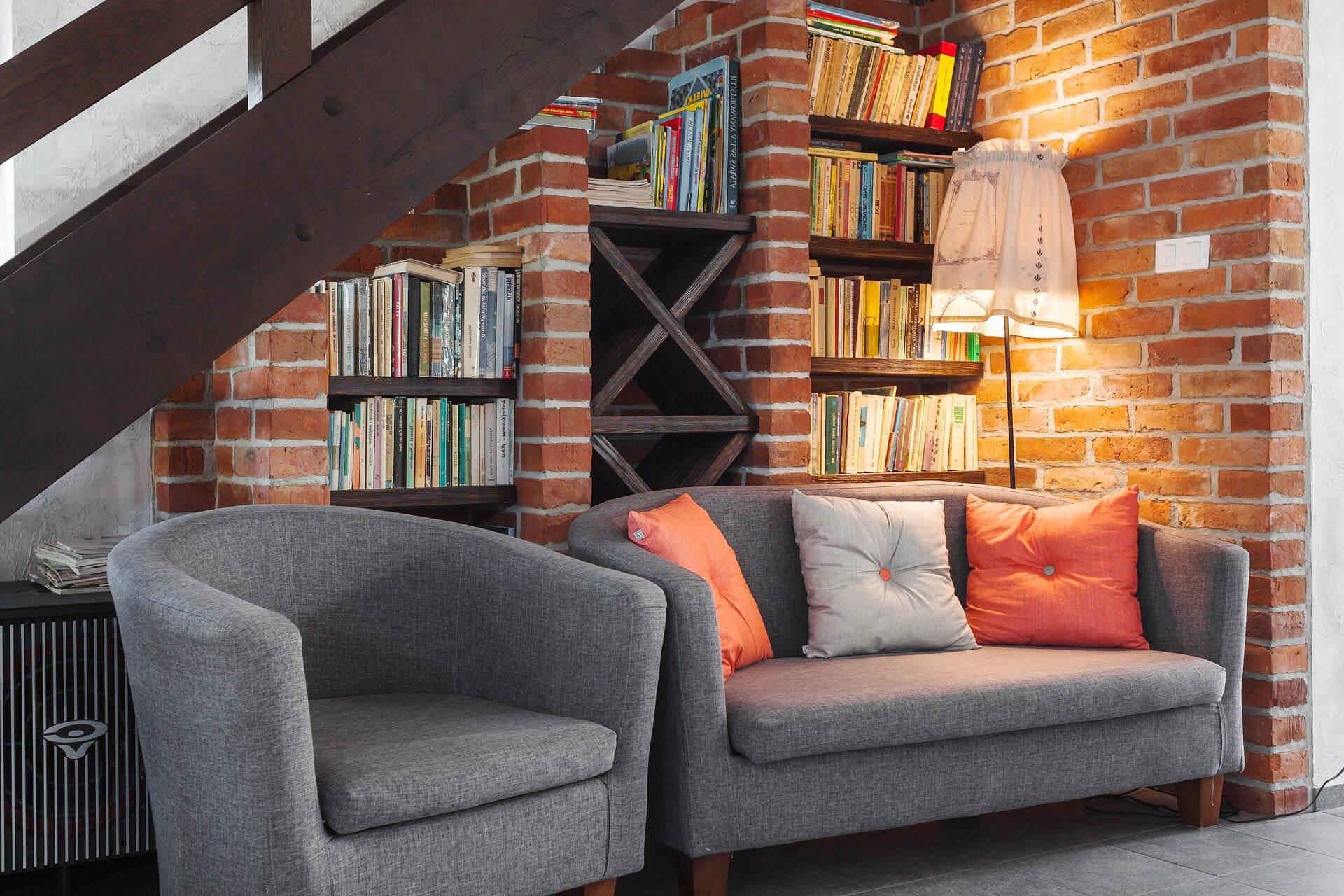 Bücher über Sofa, Bücher, die man gelesen haben muss