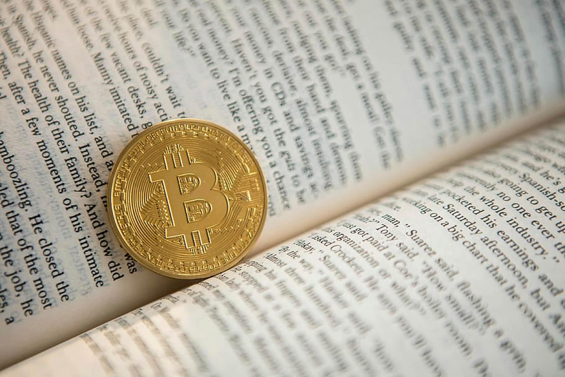 Bitcoin Bücher Münze Buch