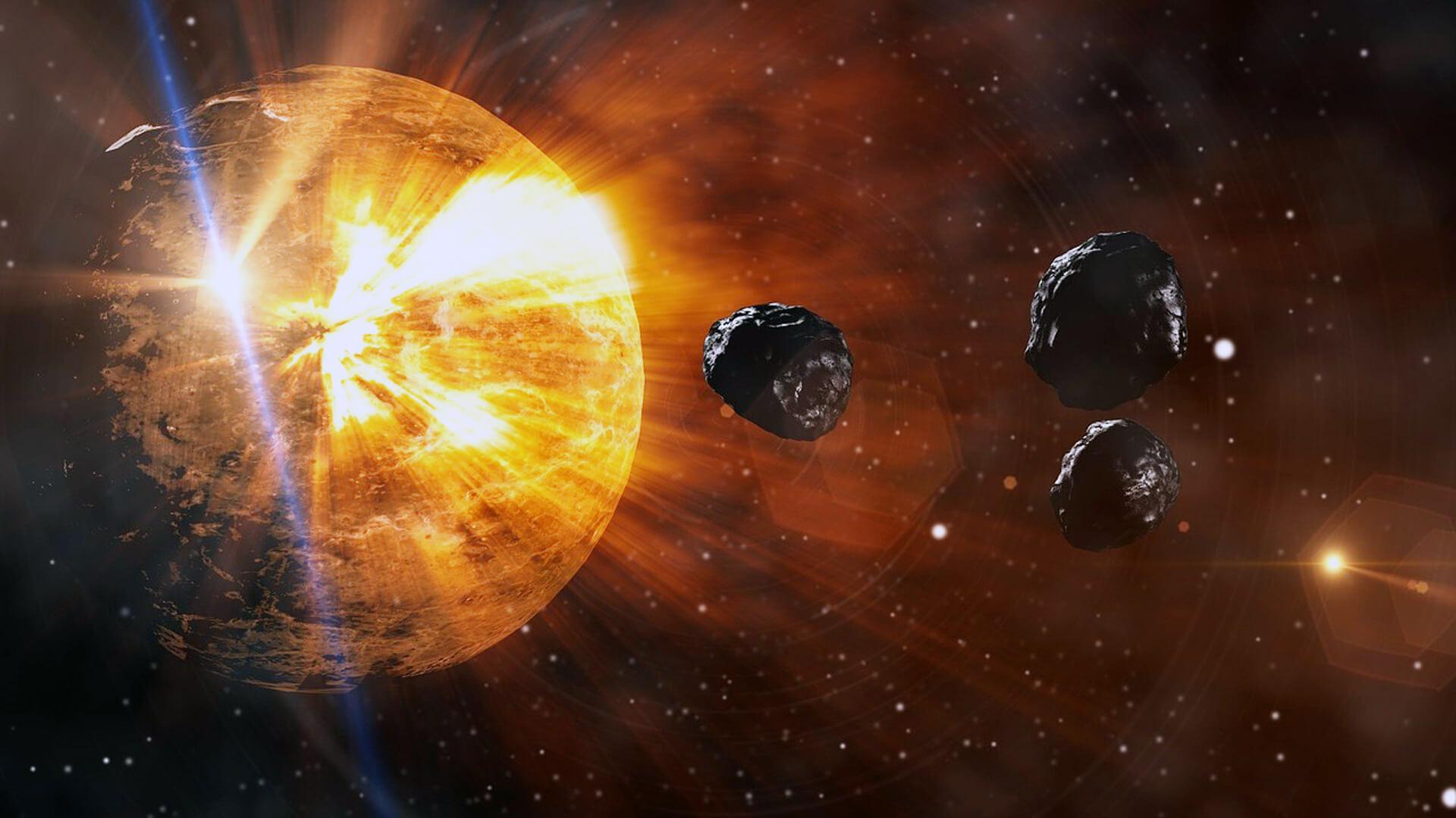 Bücher Weltuntergang mit Meteoriten