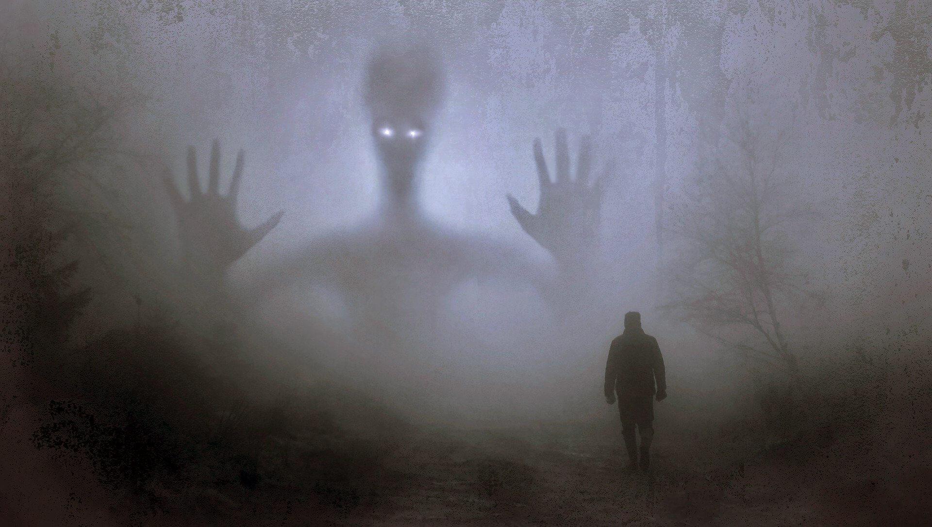 Horror Romane Wald Monster