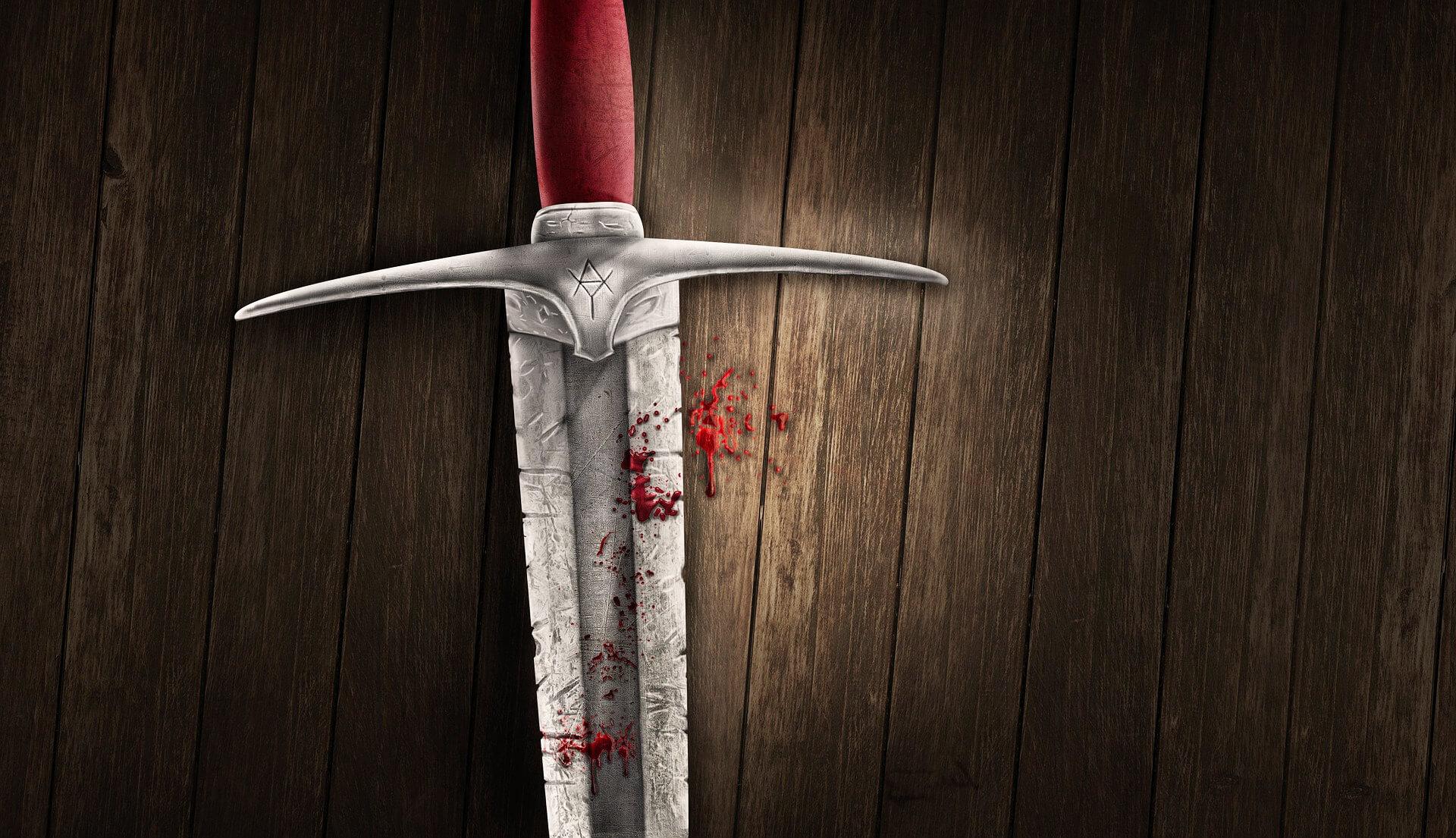Schwert Blut